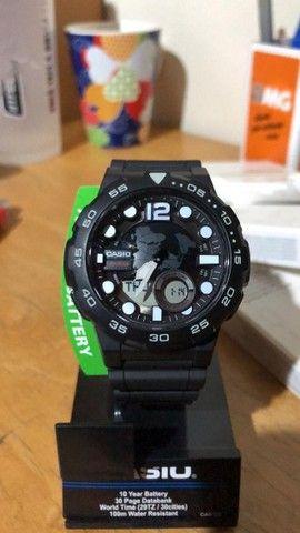 Relógio Casio Aeq 100w Comprado nos E.U.A - Foto 4