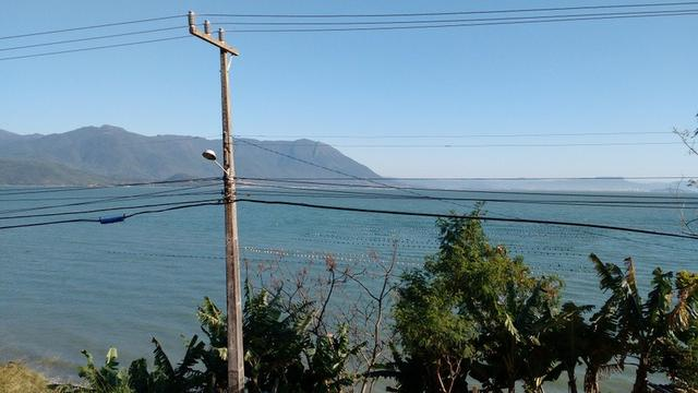 Terreno 900 m² linda vista para o mar Caiacanga,Ribeirão da Ilha Florianópolis