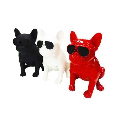 Caixa de Som Bluetooth Z13 Bulldog Francês Cachorro Portátil 10w Fm - Foto 3