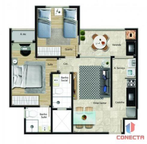 Apartamento para venda em vitória, jardim da penha, 2 dormitórios, 1 suíte, 2 banheiros, 1 - Foto 16