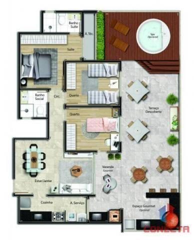 Apartamento para venda em vitória, jardim da penha, 2 dormitórios, 1 suíte, 2 banheiros, 1 - Foto 15
