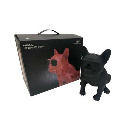 Caixa de Som Bluetooth Z13 Bulldog Francês Cachorro Portátil 10w Fm - Foto 5
