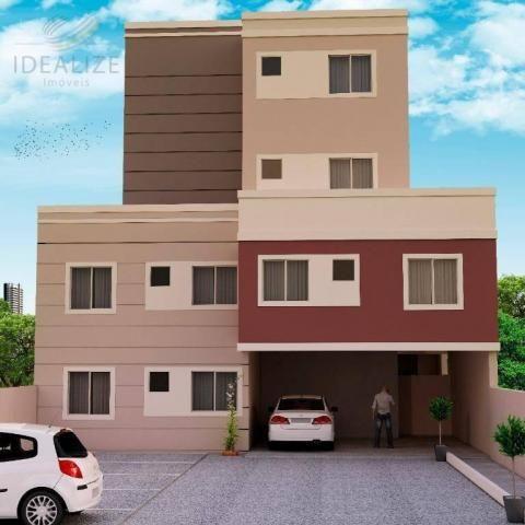 Apartamento à venda com 2 dormitórios em Afonso pena, São josé dos pinhais cod:1726522 - Foto 2