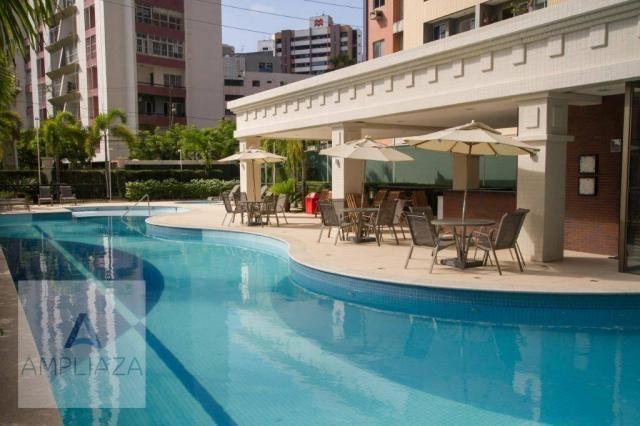 Apartamento com 4 dormitórios à venda, 220 m² por R$ 1.997.000 - Cocó - Fortaleza/CE - Foto 4