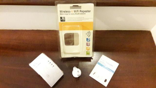 Repetidor de Sinal Wi-Fi 600mbps Amplificador Wireless