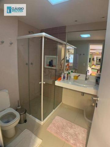 Apartamento com 4 dormitórios à venda, 203 m² por r$ 1.600.000 - jatiúca - maceió/al - Foto 14