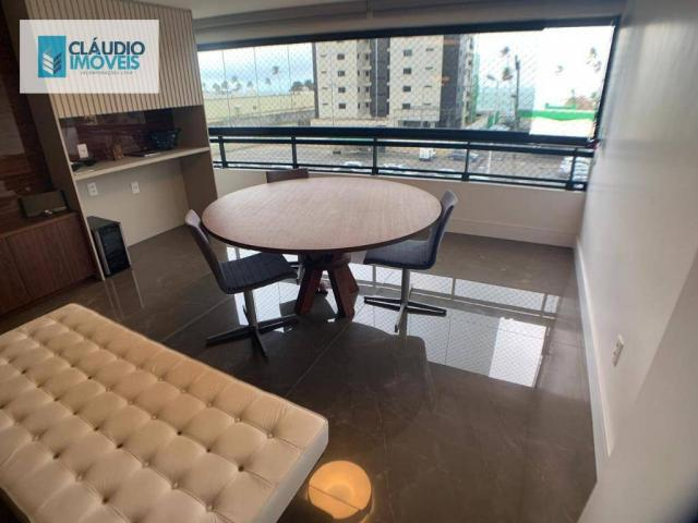 Apartamento com 4 dormitórios à venda, 203 m² por r$ 1.600.000 - jatiúca - maceió/al - Foto 4