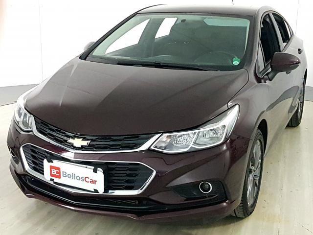 Chevrolet CRUZE LT 1.4 16V Turbo Flex 4p Aut. - Vermelho - 2018