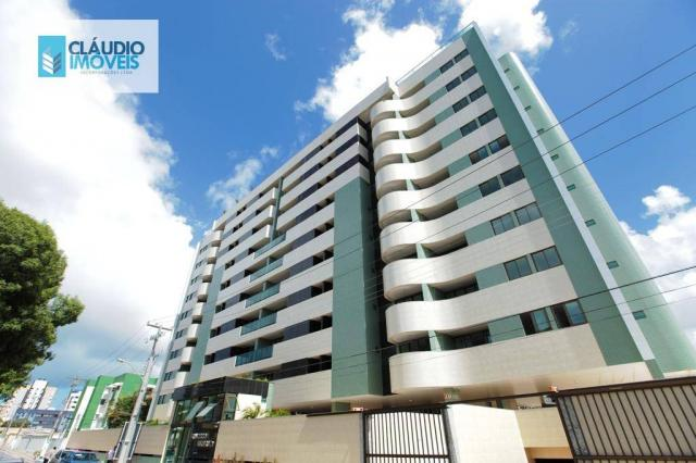 Apartamento com 3 dormitórios à venda, 83 m² por r$ 488.000 - jatiúca - maceió/al - Foto 2