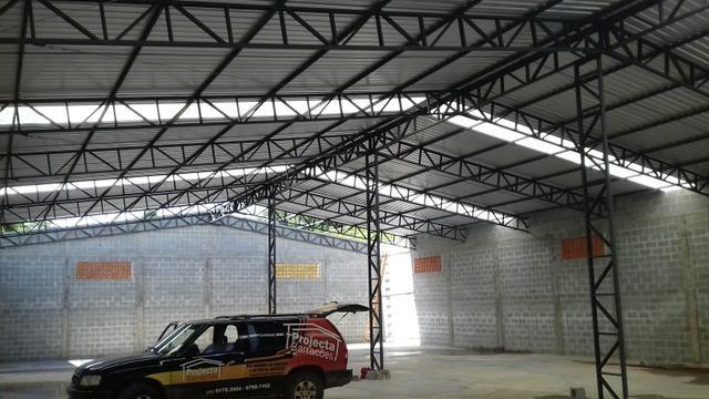 Barracão pré-moldados de concreto, galpões, granjas, estruturas metálicas - Foto 3