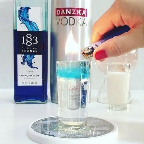 Vodka Dinamarquesa Danzka 1 litro - Sabor original e Saborizadas !