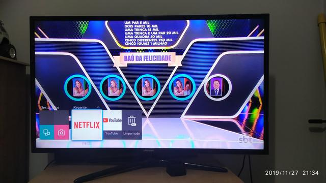 Smart Tv 3d Samsung 40 polegadas - Foto 2