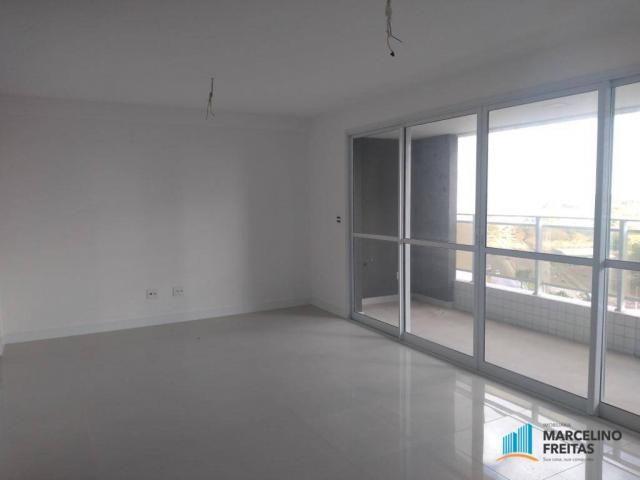 Apartamento com 3 dormitórios para alugar, 110 m² por r$ 2.079,00/mês - salinas - fortalez - Foto 6