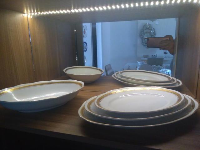 Conjunto de jantar de porcelana - Foto 2