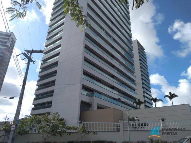 Apartamento com 3 dormitórios para alugar, 110 m² por r$ 2.079,00/mês - salinas - fortalez - Foto 2