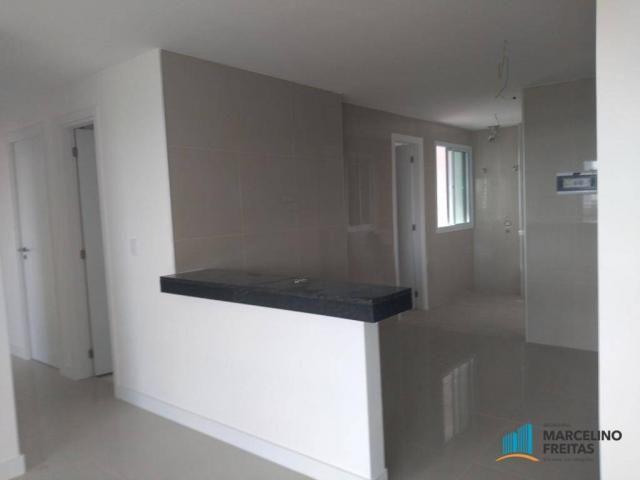 Apartamento com 3 dormitórios para alugar, 110 m² por r$ 2.079,00/mês - salinas - fortalez - Foto 8