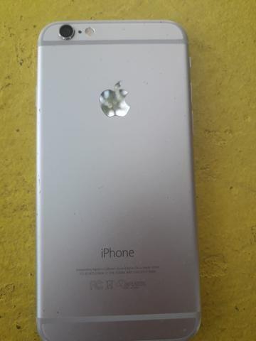 Vendo iPhone 6 com a tela trincada - Foto 2