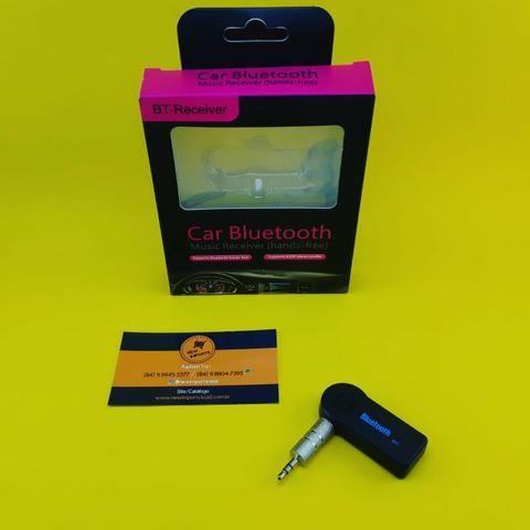 Adaptador Bluetooth ( Veícular ) P2 Auxiliar