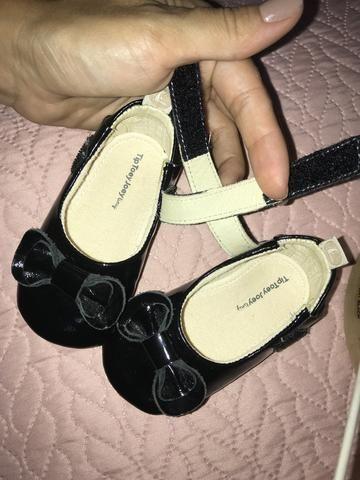 Sapato bebe preto verniz - Foto 3