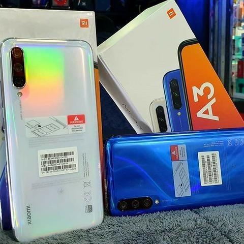 O Xiaomi Mi A3 64GB e 128GB lacrado/novo