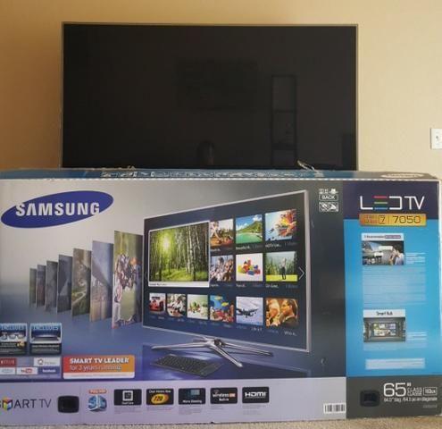 """Samsung 65"""" 1080p 240Hz 3D Smart Led HDTV"""
