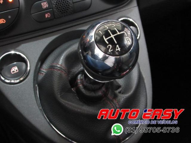 Fiat 500 Sport Air 1.4 C/ Couro! - Foto 20