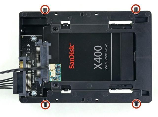 Instalar SATA (SSD ou HDD) iMac de 27 polegadas Retina 5K (final de 2015 - 2017) - Foto 2