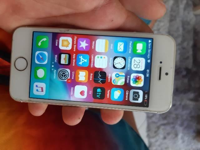 Iphone 5s 16g biometria pegando nenhum defeito