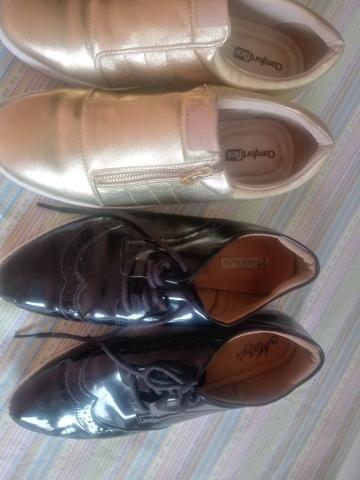 Vendo calçados dois pares por 40reais