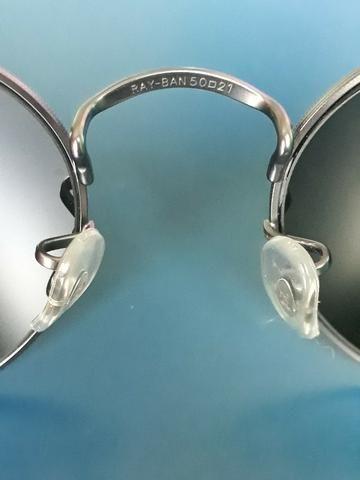 Óculos Ray Ban Round Original Seminovo - Foto 5