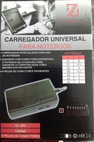 Caregador notebook universal