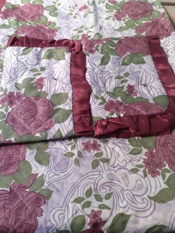 Colcha de cama de casal acolchoada - Foto 4