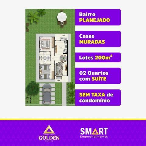 Casas no loteamento Novo Amazonas 1.Residencial Golden Manausª - Foto 3