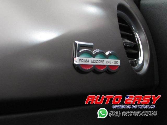 Fiat 500 Sport Air 1.4 C/ Couro! - Foto 14