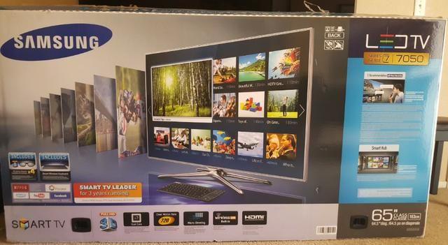 "Samsung 65"" 1080p 240Hz 3D Smart Led HDTV - Foto 2"