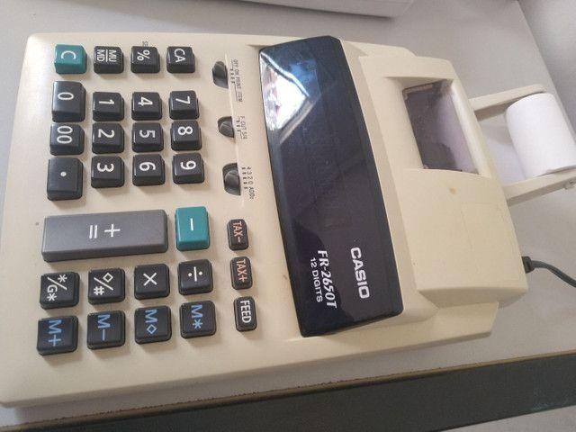 2 Calculadora com impressão - Foto 4