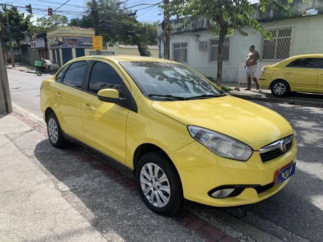 Fiat grand siena tetra 15/15 ex taxi, aprovação imediata, basta ter nome limpo!!!! - Foto 4