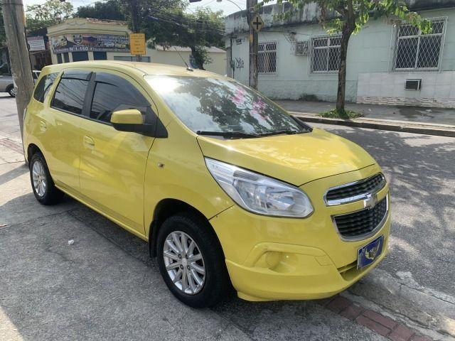Spin 1.8 ex taxi completa+gnv, aprovação imediata, sem comprovação de renda!!! - Foto 9