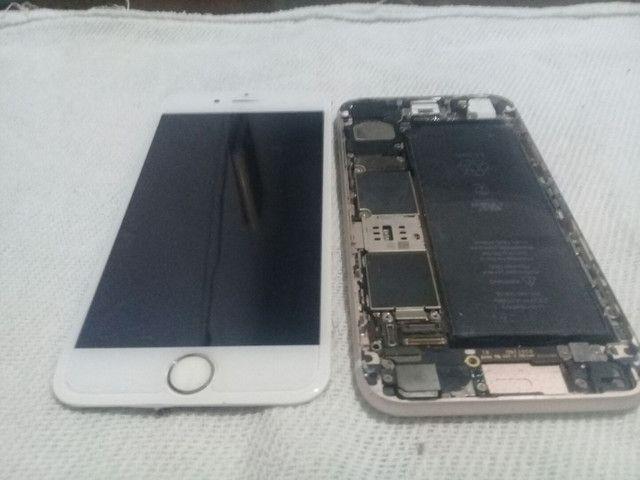 Iphone 6 Vendo ou troco por celular  tela bateria e pecas do iPhone 6s