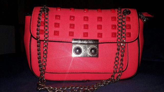 Desapego bolsa rosa - Foto 2