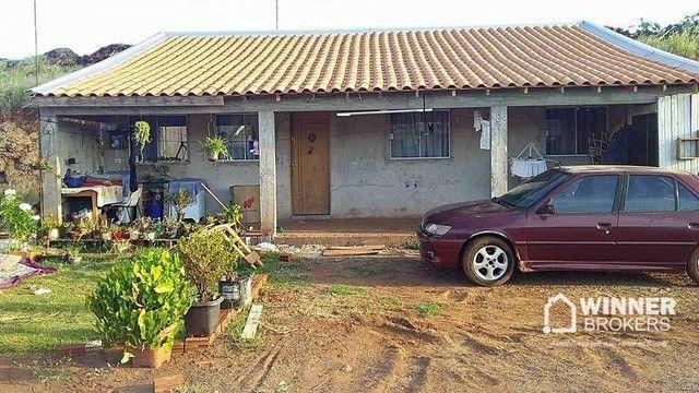 Casa com 2 dormitórios à venda, 64 m² por R$ 50.000,00 - Jardim Aurora 3 - Sarandi/PR - Foto 2