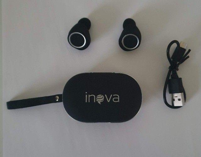 Fone De Ouvido Bluetooth Sem Fio Estereo Botão Touch