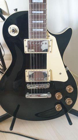 Guitarra Les Paul Vogga Standard + Cabos e GuitarLink