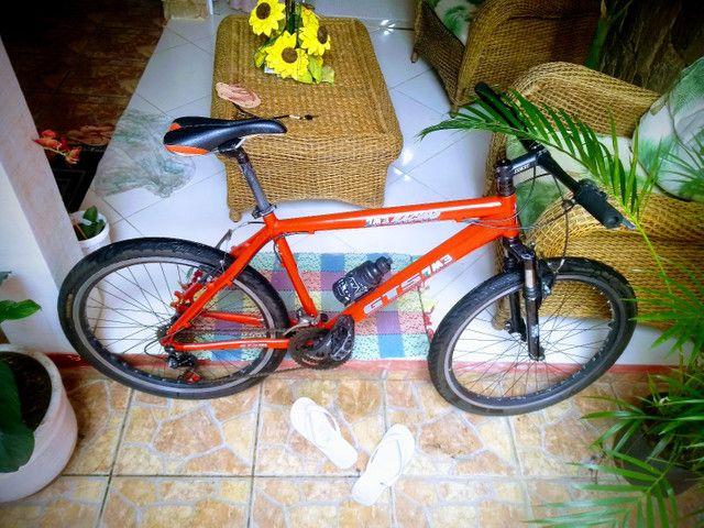 Troco por bicicleta aro 29 ou vendo  - Foto 2