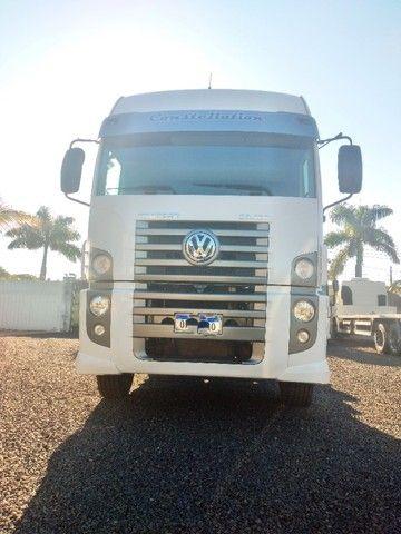 Volkswagen Constellation 26.420 ano 2014 6x4 automático, único dono em excelente estado.  - Foto 5