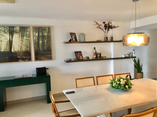 Apartamento com 3/4 completo de armários na ponta verde  - Foto 2