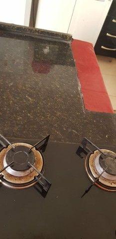 Vendo 3 peças: balcao cooktop,pia inox, pedra granito  - Foto 4