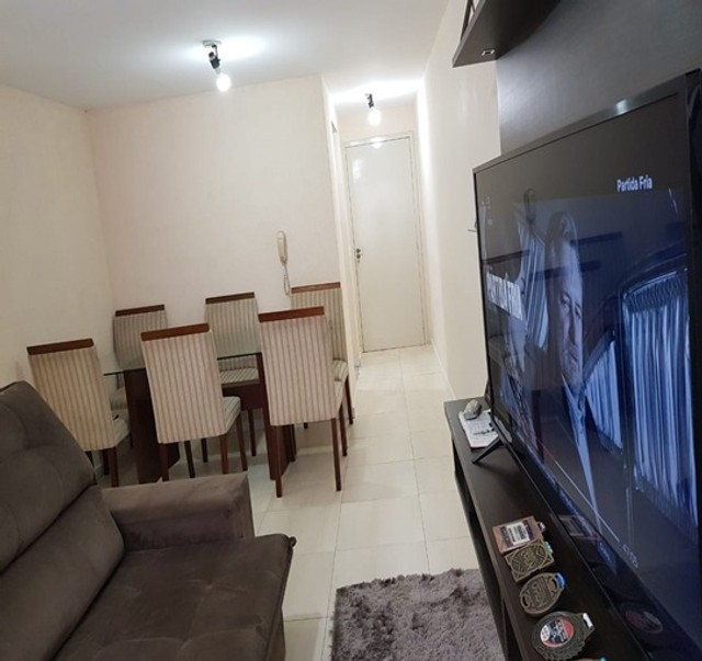 Apartamento_com 3 quartos semi mobiliado no Fazendinha - Foto 6