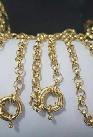jóias de moedas antigas idêntica ao ouro - Foto 5