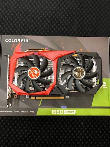 Placa de vídeo colorful geforce gtx1660 super nb 6gb gddr6 - Foto 2
